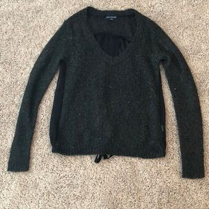 American Eagle Outfitters Black Sweater